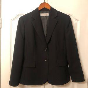 Tahari Black Blazer Size 4P